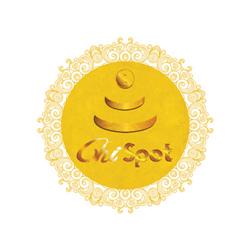 Goldener Chi-Spot (Ø: 34 cm)